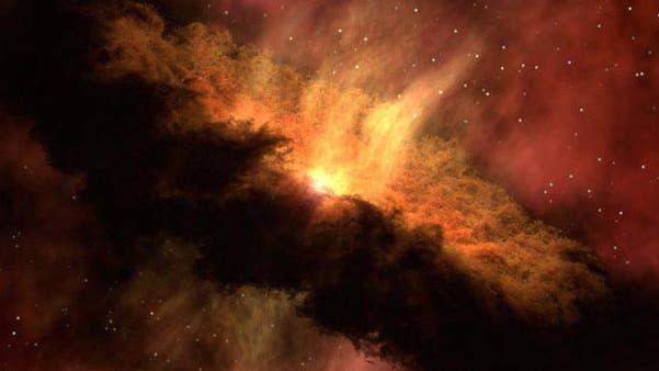 Ein junges Sonnensystem