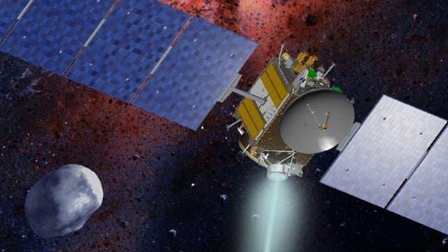 Raumsonde Dawn mit Vesta