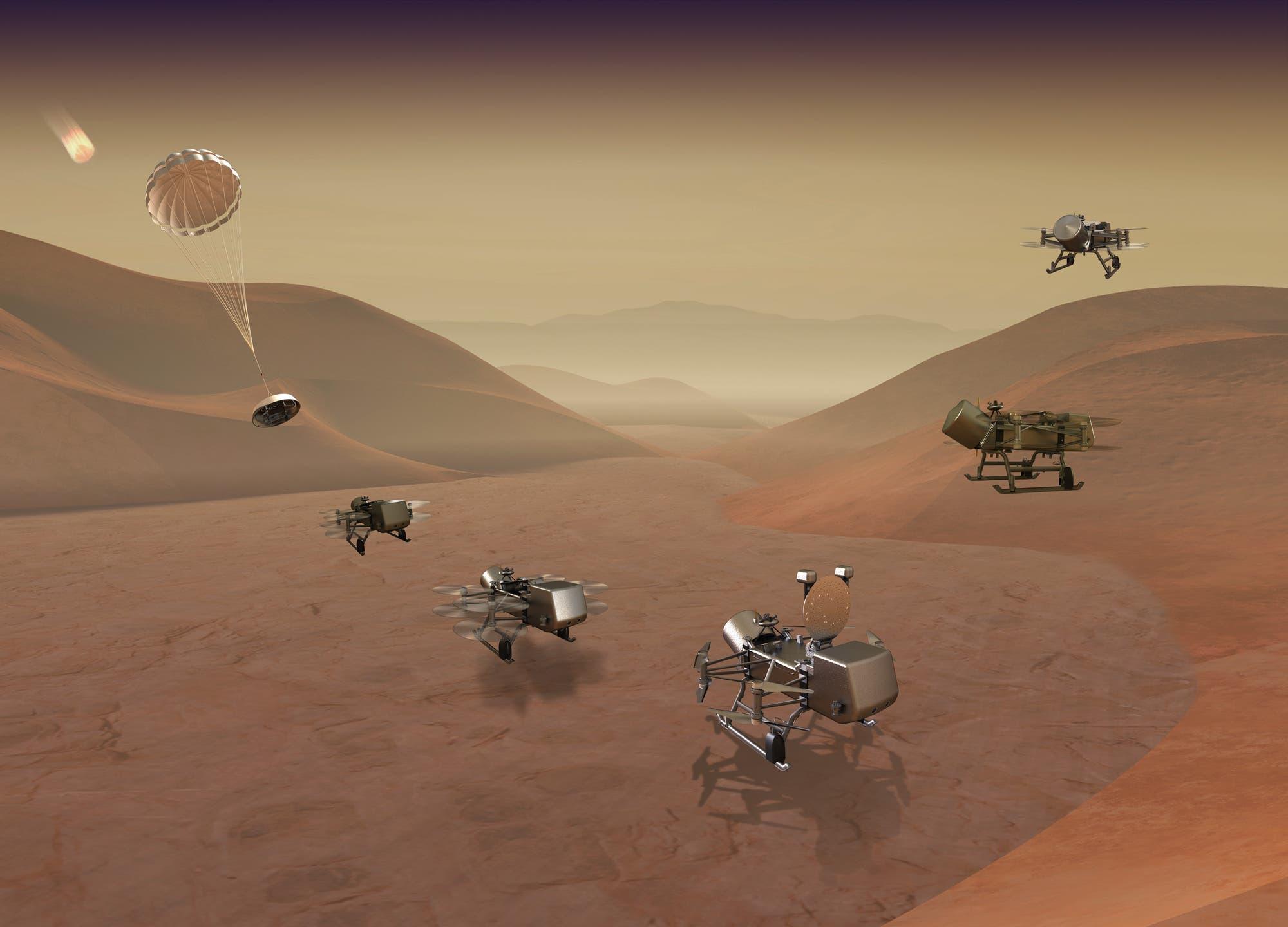 Atomlibelle auf Saturnmond Titan