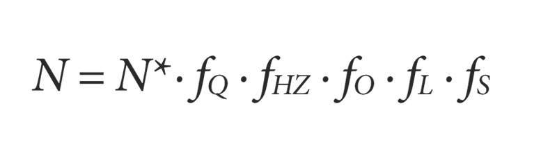 Die Drake-Seager-Gleichung
