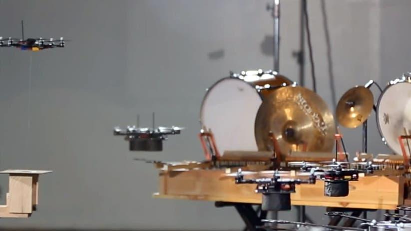 Hexacopter machen Musik