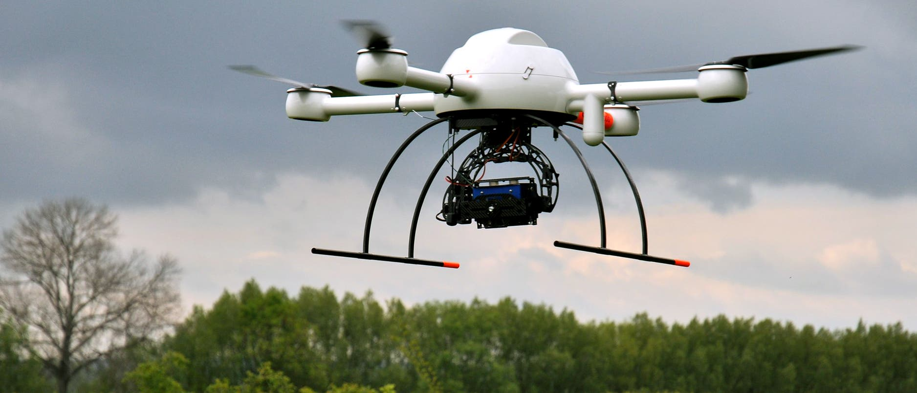 Drohne mit Multispektralkamera