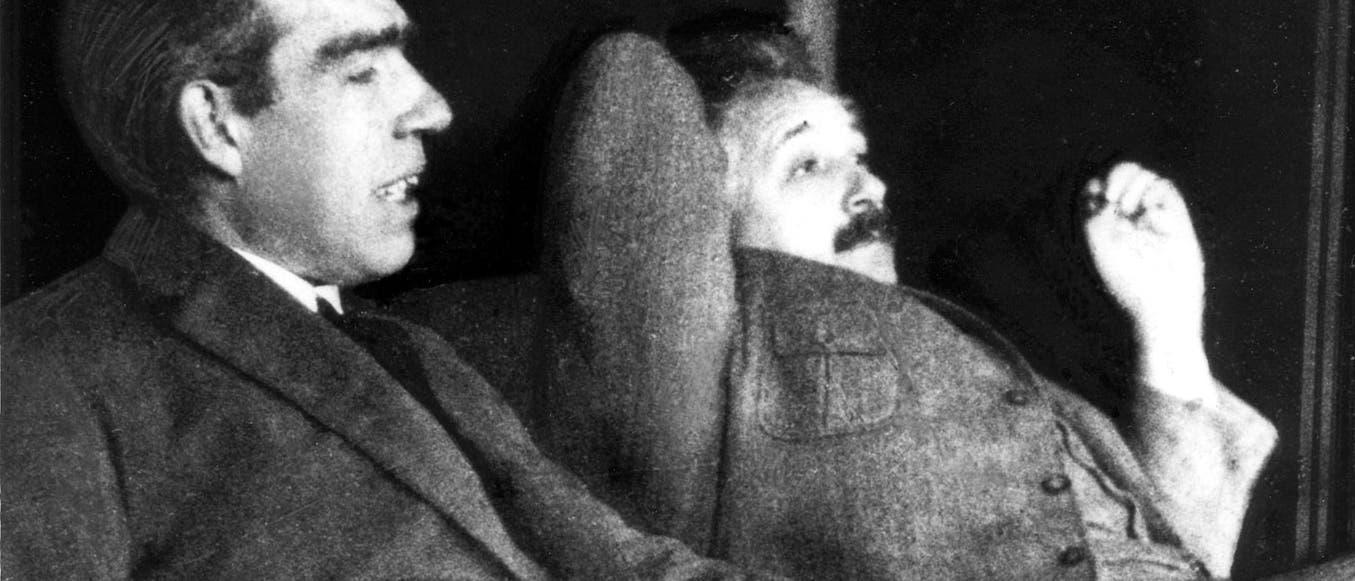 Einstein und Bohr
