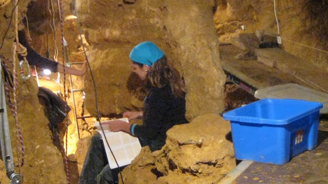 Ausgrabungen in El Sidron