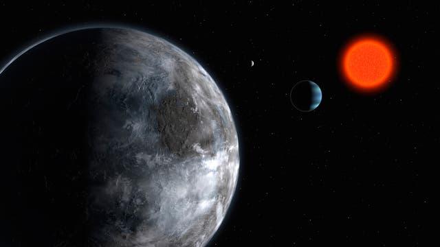 Exoplanet Gliese 581d