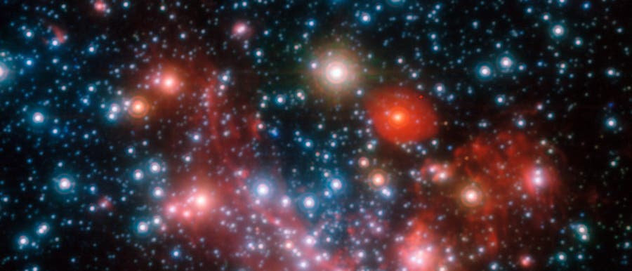 Sterne im galaktischen Zentrum