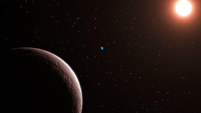Exoplanetensystem Gliese 581