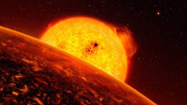 Super-Erden um COROT-7