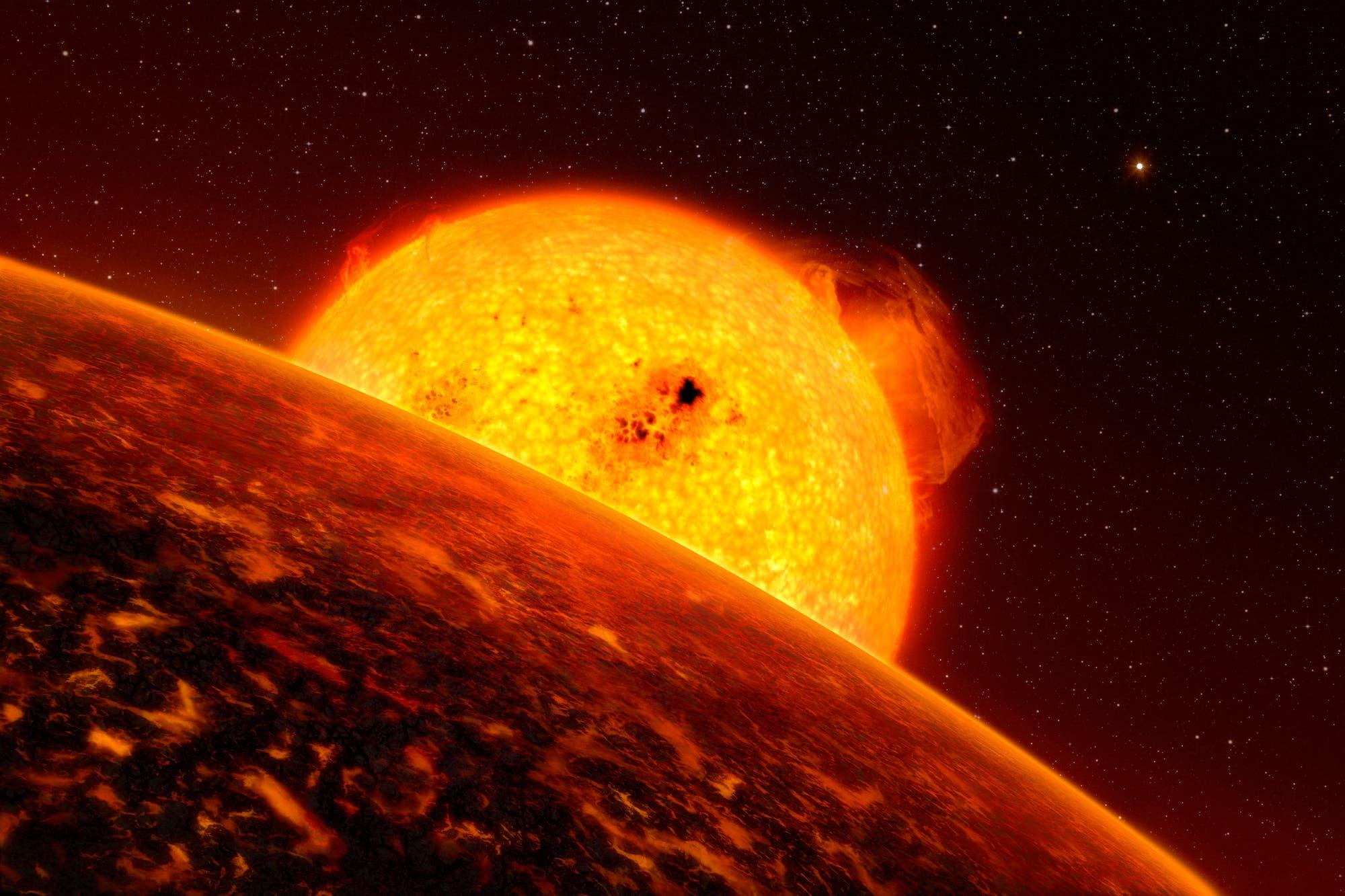 Die Sonne als Roter Riese