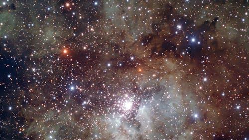 Der Sternhaufen NGC3603 im Sternbild Carina