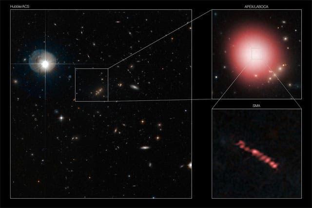 Sternentstehungsgebiete im Submillimeterbereich