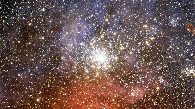 Aufnahme des Sternhaufens NGC 2100
