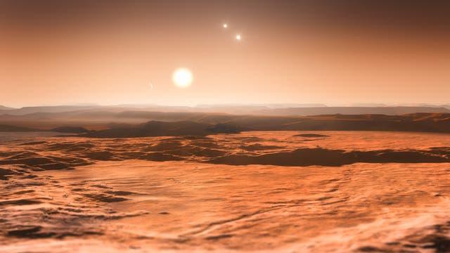 Planeten GJ 667Cd