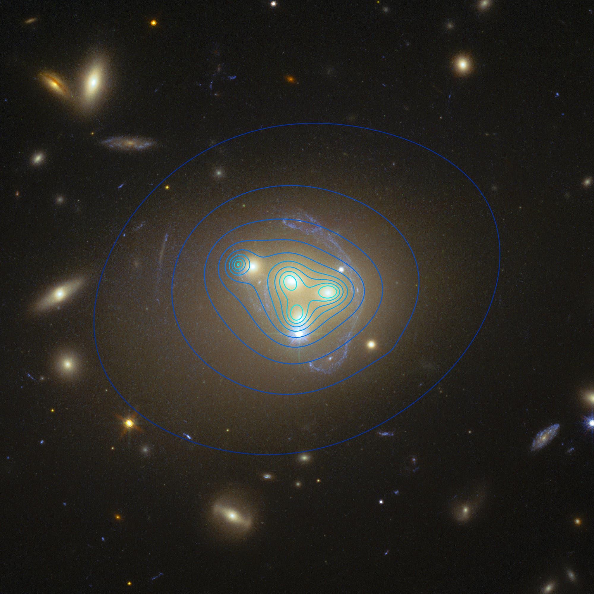 Der Galaxienhaufen Abell 3872