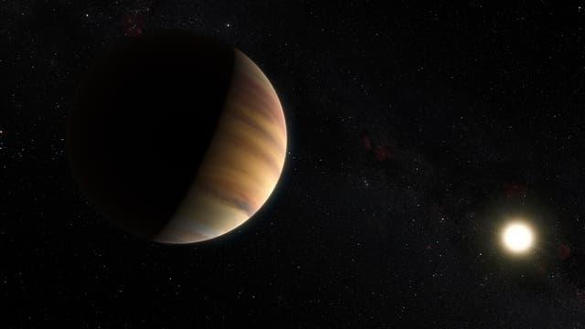 Der heiße Jupiter 51 Pegasi (künstlerische Darstellung)