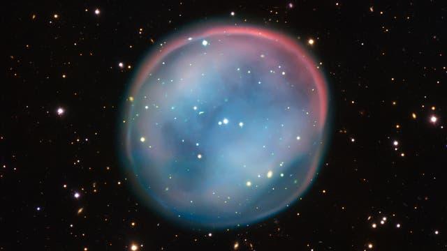 Der Planetarische Nebel ESO 378-1 im Sternbild Wasserschlange