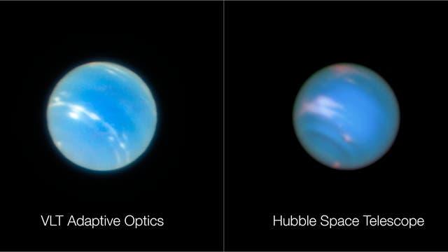 Fokus auf Neptun