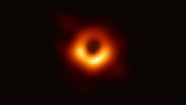 Das Schwarze Loch im Zentrum von Messier 87.