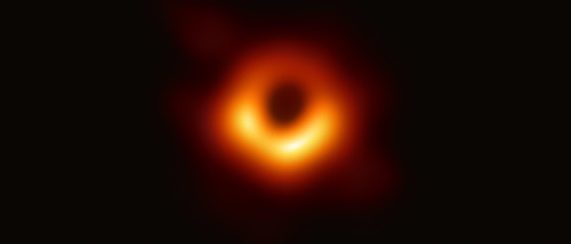 Das erste Bild eines schwarzen Lochs