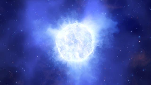 So könnte der Stern ausgesehen haben
