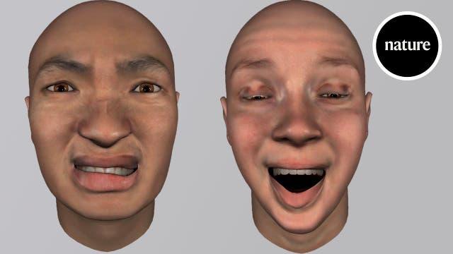 Wissenschaftler untersuchen Gesichtsausdrücke