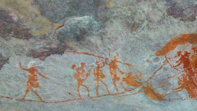 Wie entstanden Felsmalereien?