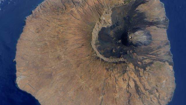 Vulkan Fogo in den Kapverdischen Inseln