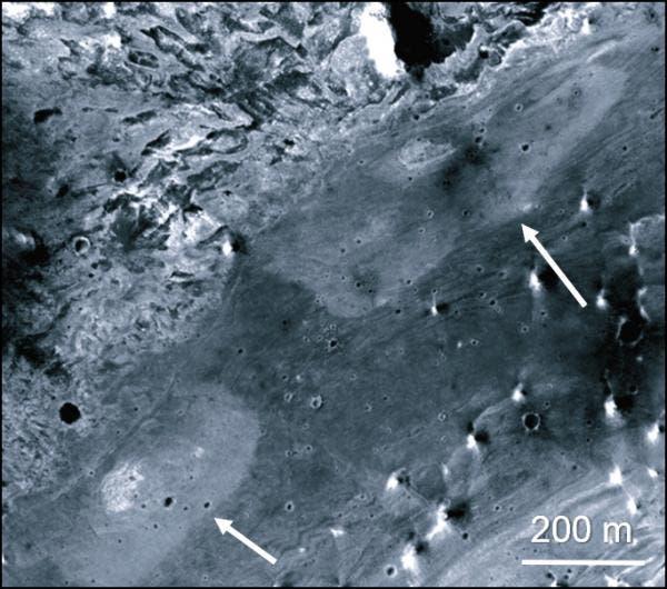 Mögliche heiße Quellen im Vernal-Einschlagkrater auf dem Mars