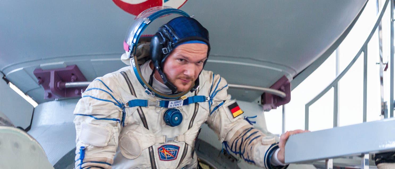 Bald im All? Kosmonaut Alexander Gerst