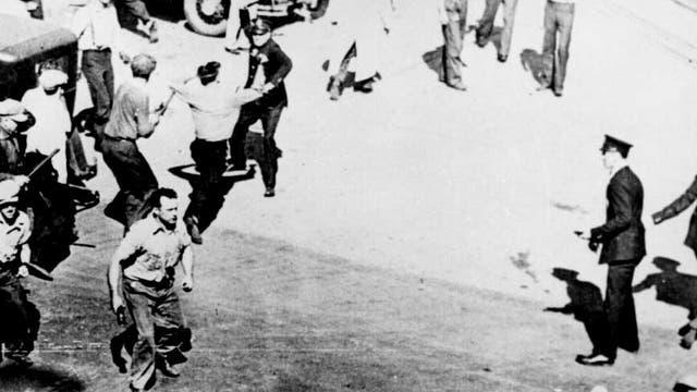 Straßenkämpfe in Minneapolis 1934