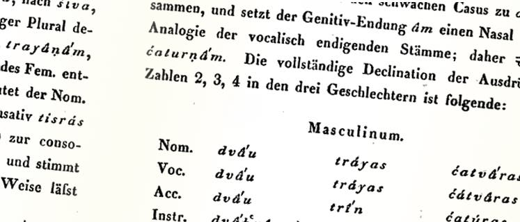 Sanskrit-Grammatik