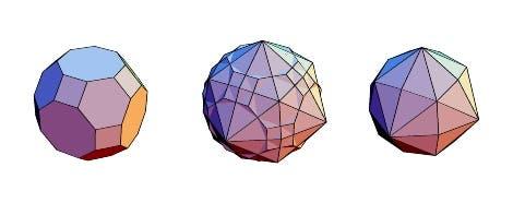 Großes Rhombenkuboktaeder und Dual