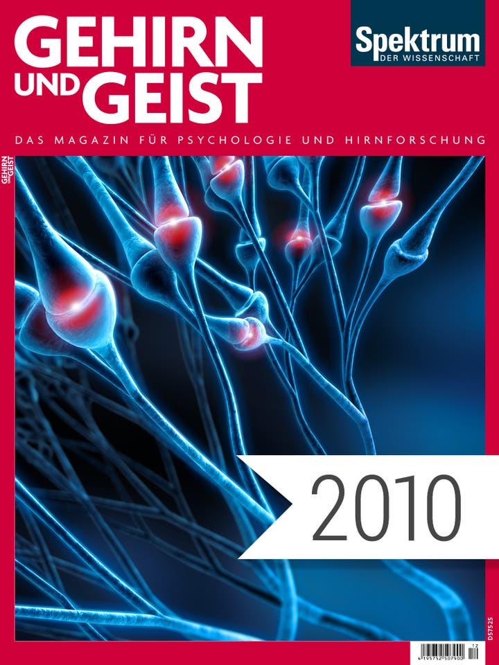 Gehirn und Geist Digitalpaket Jahrgang 2010 Cover
