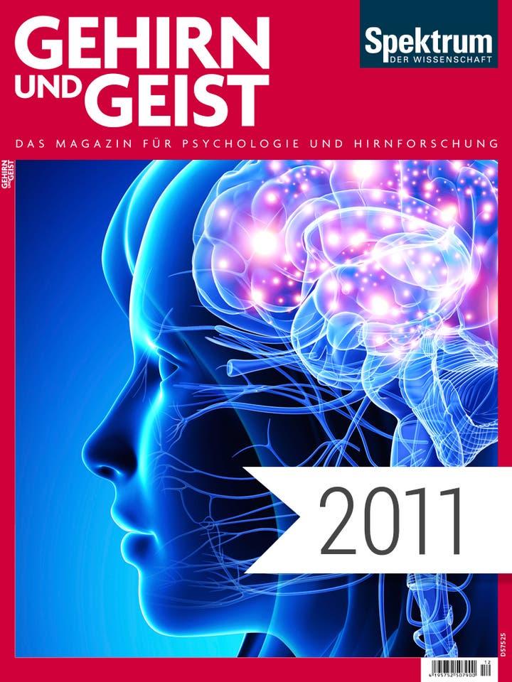 Gehirn und Geist Digitalpaket Jahrgang 2011 Cover