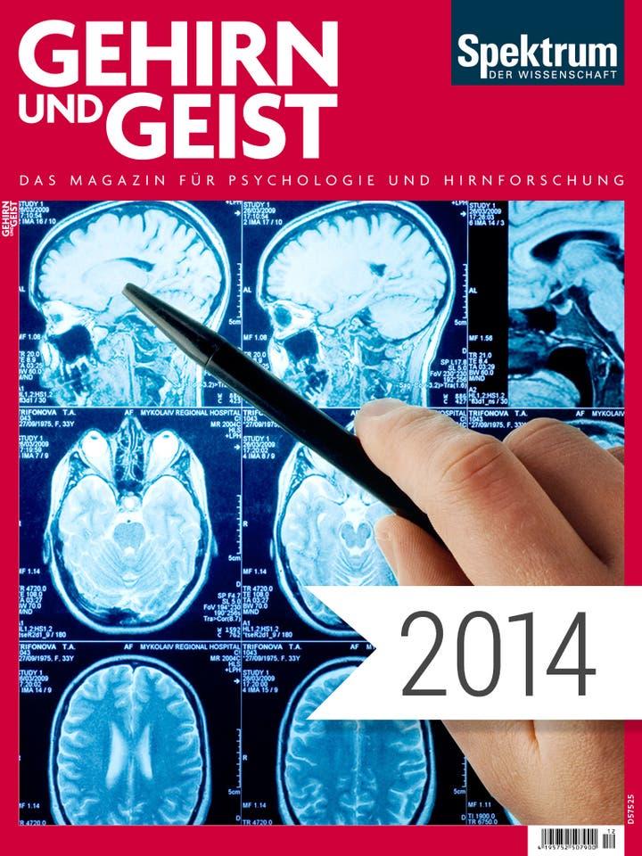 Gehirn und Geist Digitalpaket Jahrgang 2014