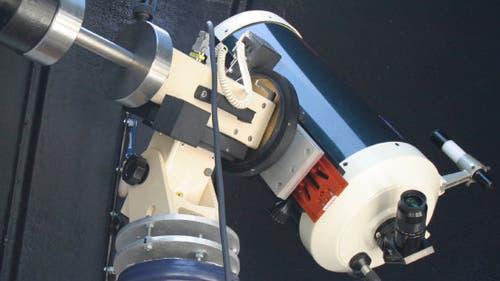 Teleskop der Sternwarte Hattingen