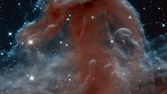 Der Pferdekopfnebel fotografiert vom Weltraumteleskop Hubble.