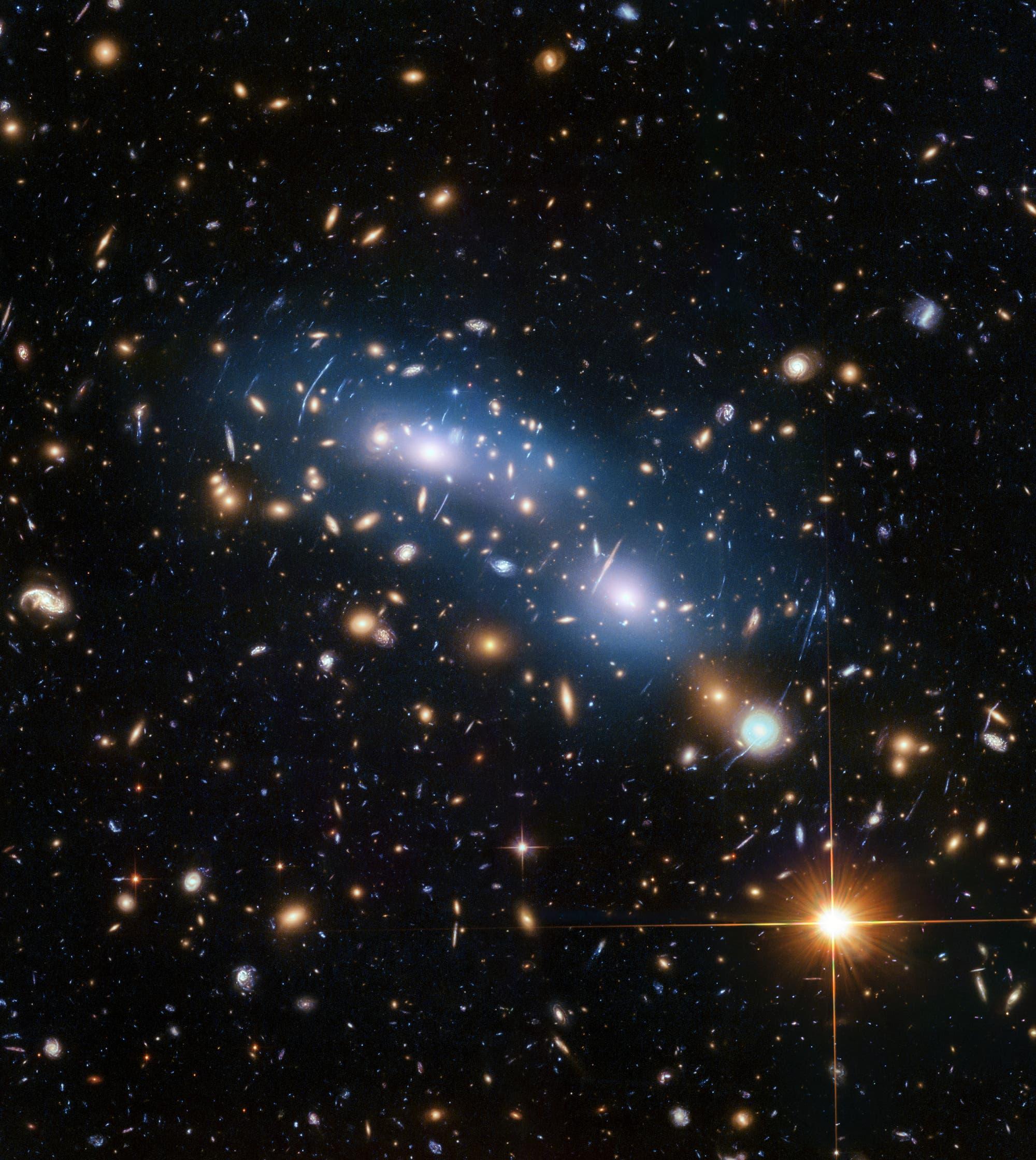 Der Galaxienhaufen MACS J0416.1 – 2403