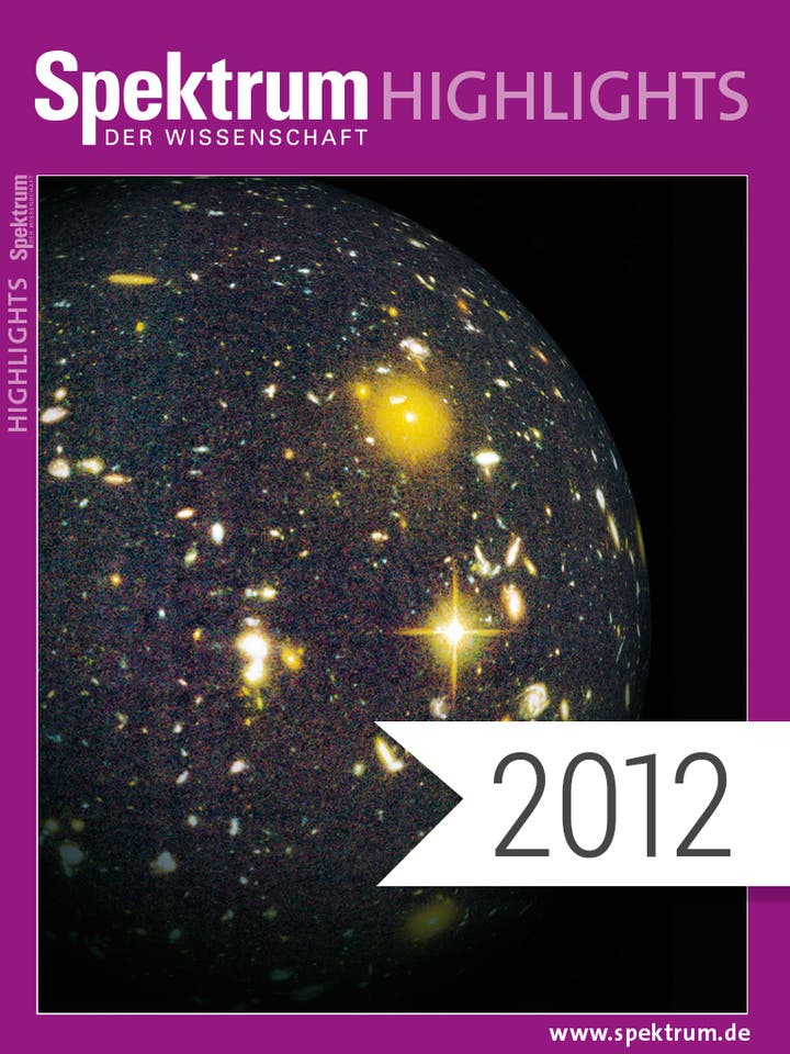 Spektrum Highlights Jahrgang 2012