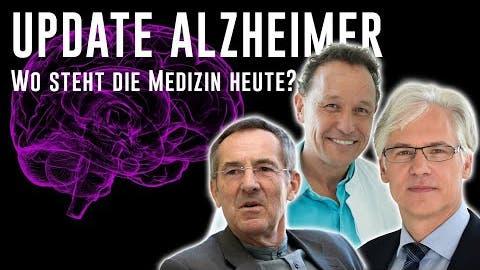 Diskussion über mögliche Behandlungen von Alzheimer