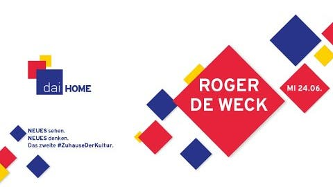 """Roger de Weck """"Die Kraft der Demokratie"""" - dai HOME"""