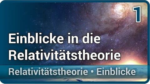 Einblicke in die Relativitätstheorie • Messen einer Geschwindigkeit