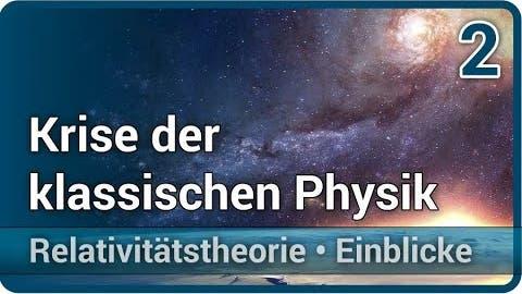 Krise der klassischen Physik • Michelson Morley Experiment   Peter K