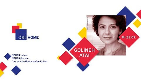 """Golineh Atai zu """"Die Wahrheit ist der Feind"""" bei daiHOME"""