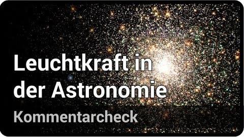 Leuchtkraft von Sternen: Wie berechnet man sie?