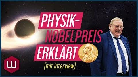 Wie wiegt man ein Schwarzes Loch?   Physik-Nobelpreis 2020 erklärt