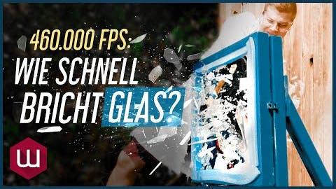 Wie schnell bricht Glas? (in 460.000 FPS!)