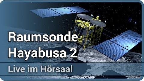 Raumsonde Hayabusa 2 • MASCOT • Erfolgreiche Landung auf dem Aster