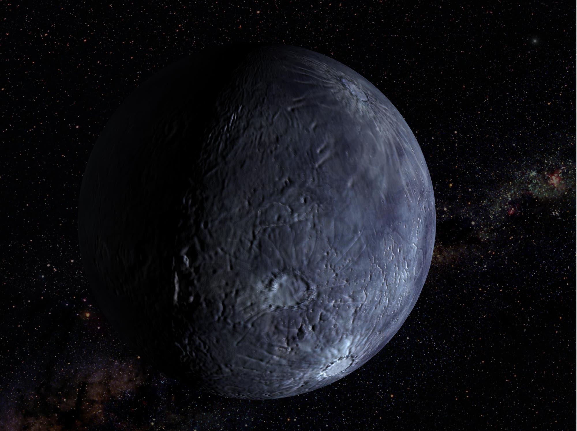 Zwergplaneten-Anwärter Quaoar