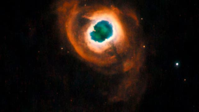 Der Planetarische Nebel K 4-55 im Sternbild Schwan